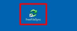 FreeFileSyncの起動